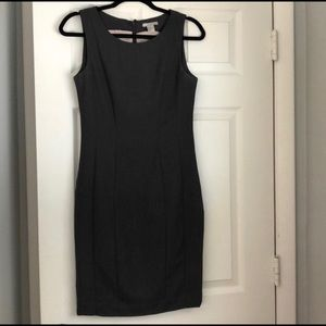 H&M Grey Sheath Dress